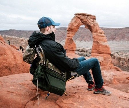 Transforming Backpack Chair
