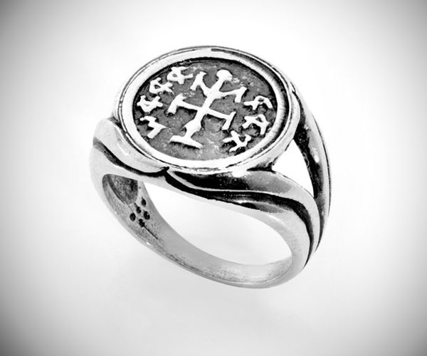 Winning & Success King Solomon Silver Amulet Ring