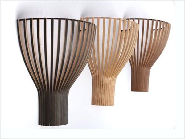 Wooden Wall Lamp Shade