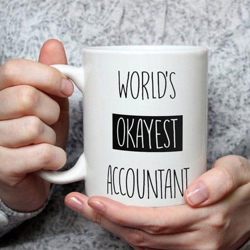 World's Okayest Accountant Coffee Mug