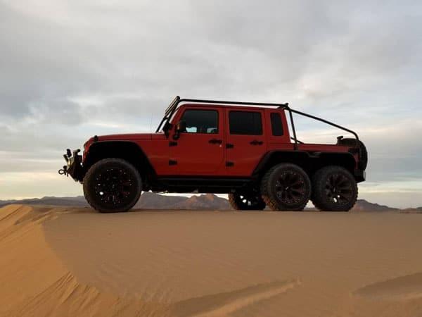 2017 Jeep Wrangler Rubicon 6X6