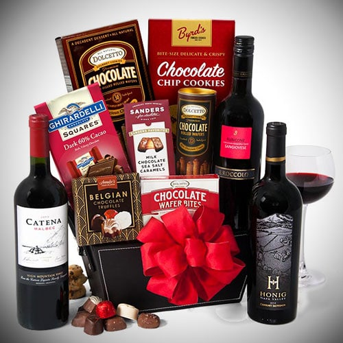 A Fabulous Wine & Chocolate Gift Packet