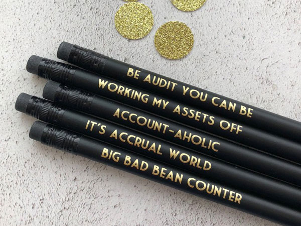 Accounting PencilsAccounting PencilsAccounting Pencils