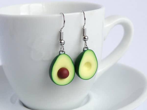 Avocado Earrings - Unusual Earrings