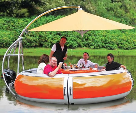 Barbecue Boat
