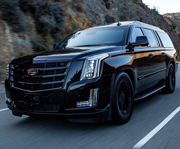 Bulletproof Cadillac Escalade