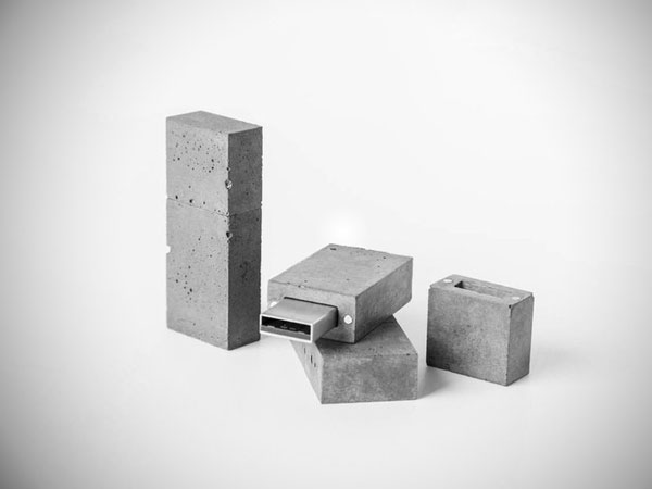 Concrete USB Flash Drive - Inexpensive Gifts for Co-Workers