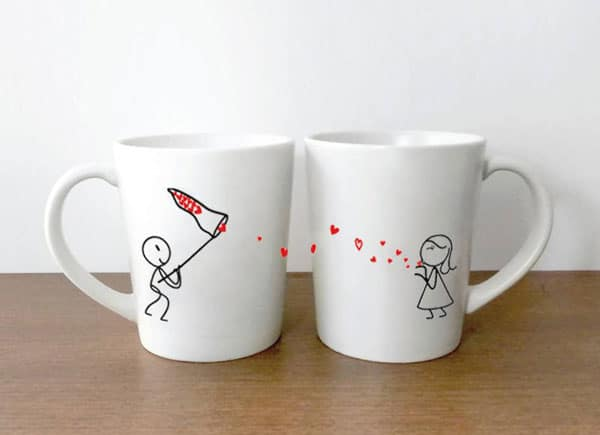 Couples His & Hers Coffee Mugs