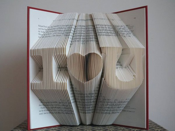 Custom Book Art