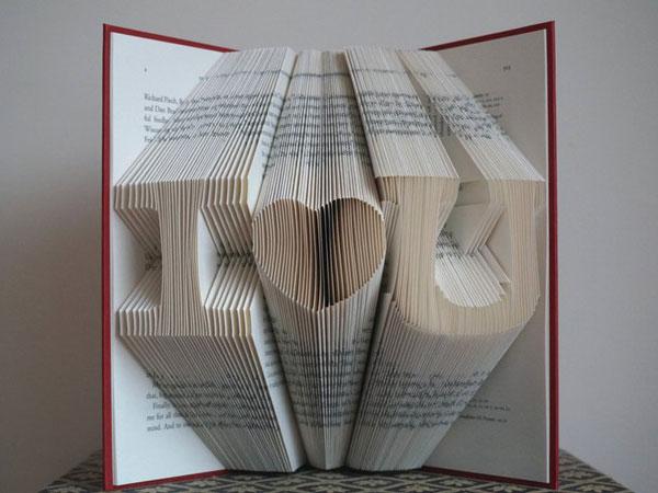 Custom Book Art
