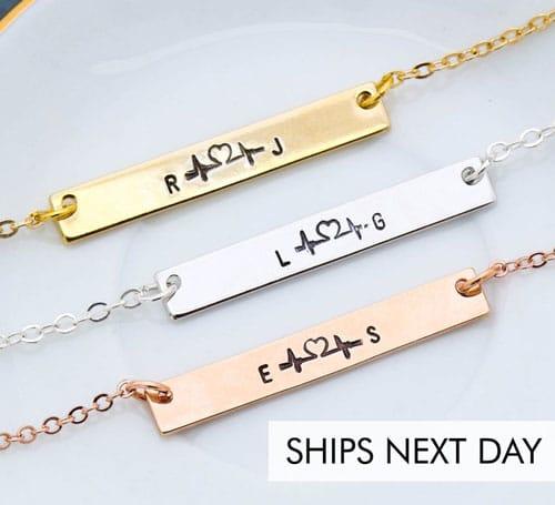 Custom Initial Bracelet