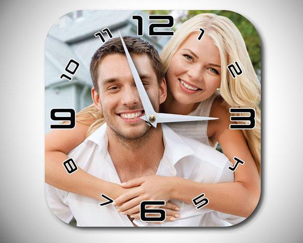 Custom Photo Clock