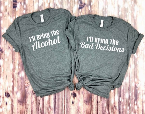 Funny Matching T-Shirts