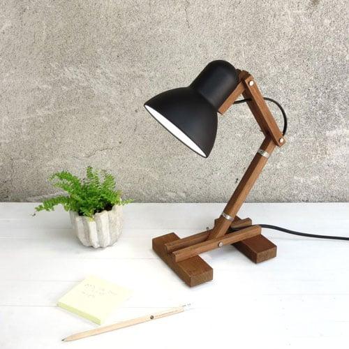 Geometric Decor Industrial Work Lamp