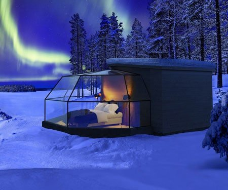 Glass Igloo Cabins