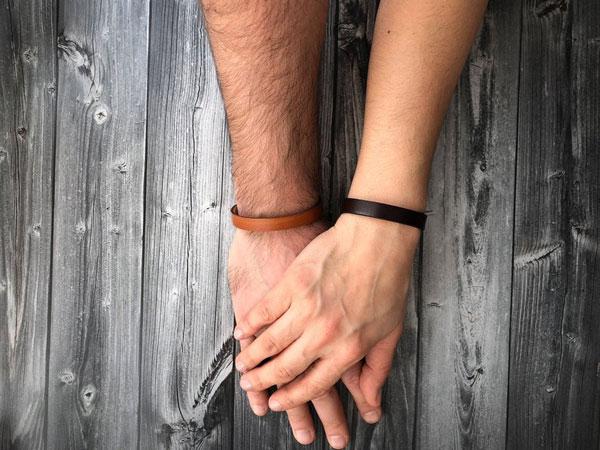 Hidden Message Couple Bracelets
