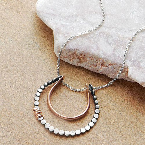 Horseshoe Pendant Good Luck Charm