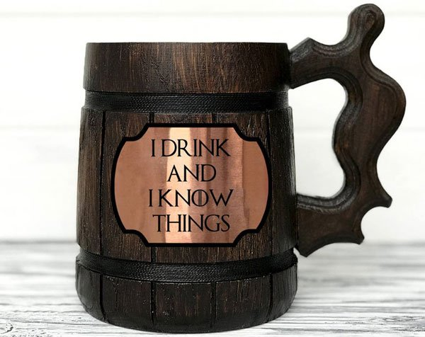 I Drink And I Know Things Mug