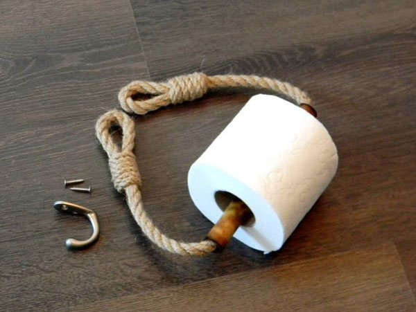 Nautical Decor Toilet Paper Holder