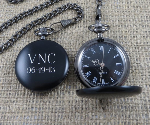 Personalized- Engraved Pocket Watch