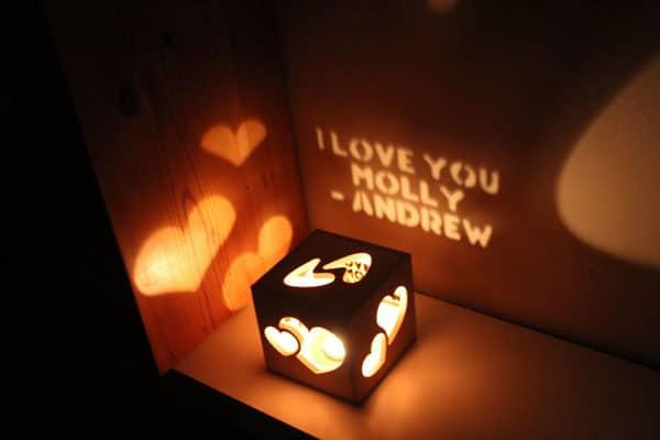 Personalized Magic Box Lamp