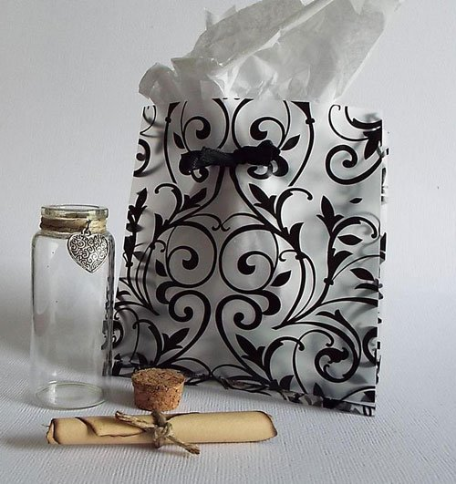 Romantic Message In A Bottle Gift