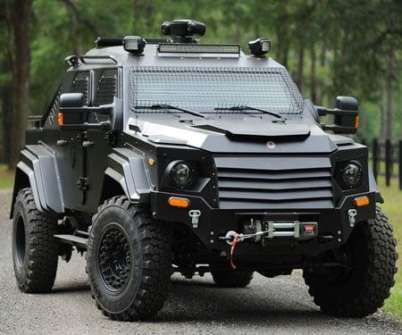 Terradyne Gurkha Armored Vehicle