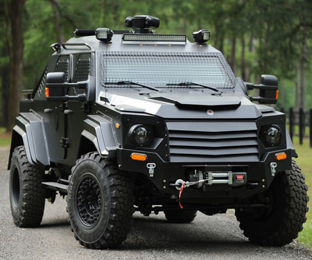 Terradyne Gurkha Armored Vehicle
