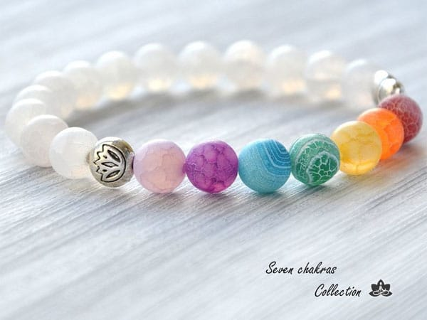 The 8 mm Chakra Bracelet - Inexpensive Gifts for Co-Workers
