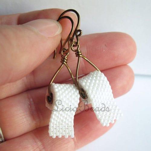 Toilet Paper Earrings - Unusual Earrings