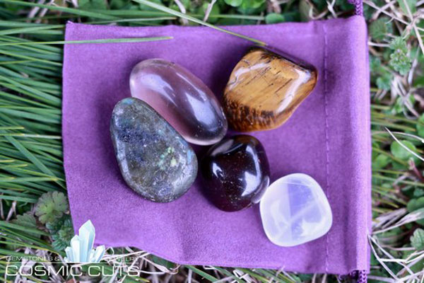 Wealth Healing Gemstone Collection Bag