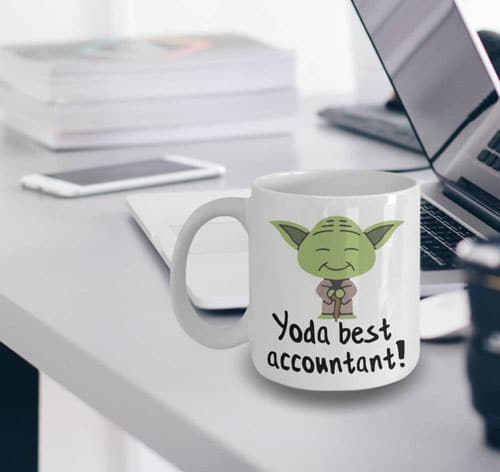Yoda Best Accountant Mug