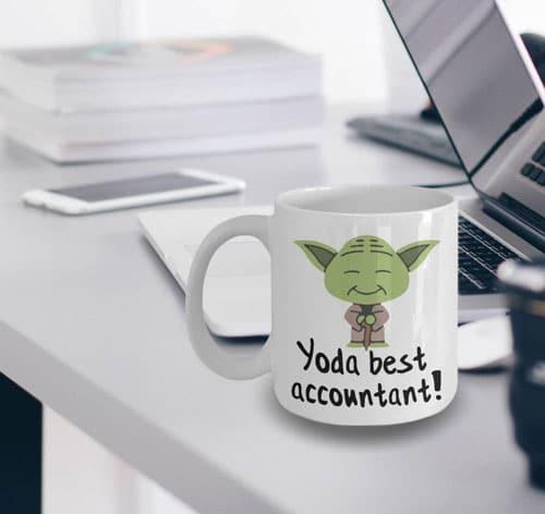 Yoda Best Accountant Mug