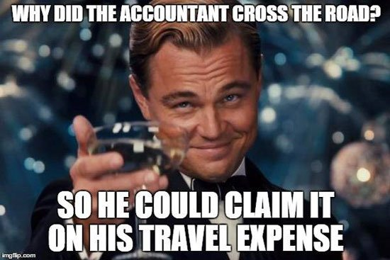 funny accountant meme