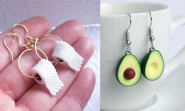 unusual earrings