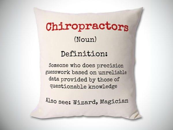 Chiropractor Definition Cushion