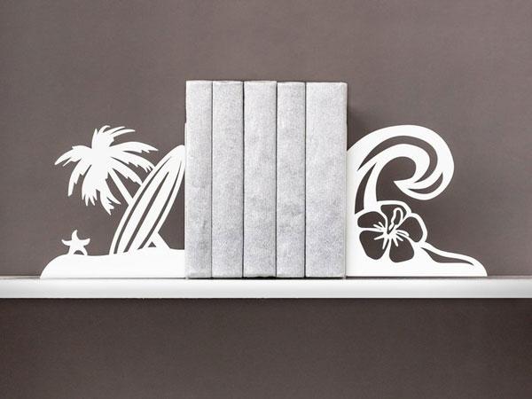 Coastal & Beach Decor Metal Bookends