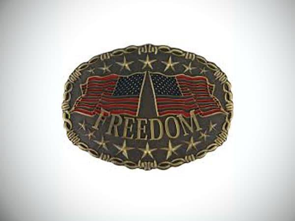 Cody James Men's Freedom Belt Buckle