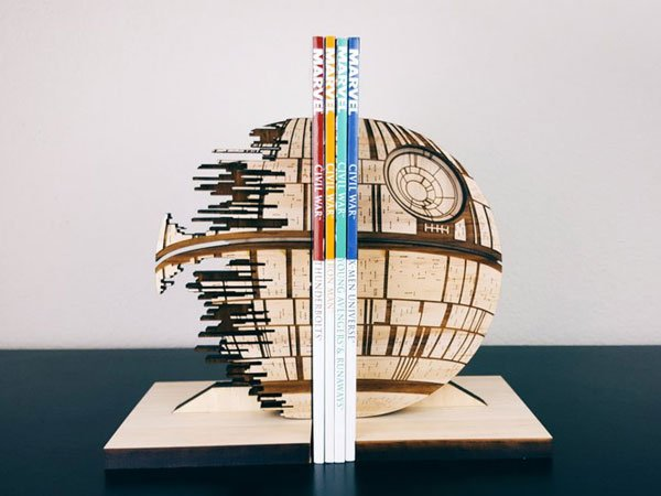 Death Star Bookends