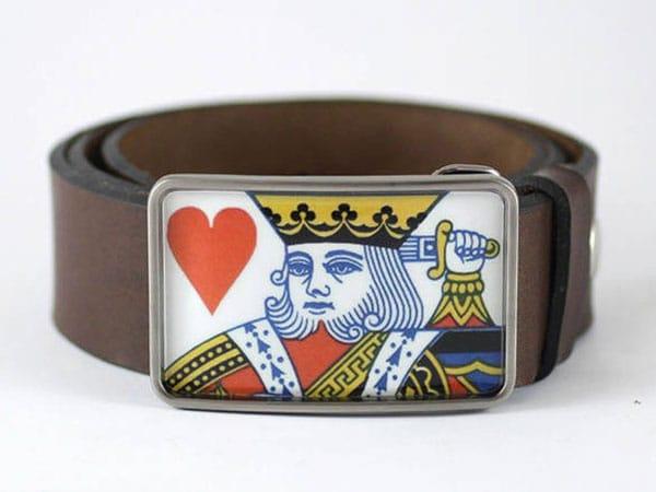 King of Hearts Belt Buckle