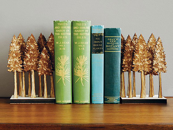 Majestic Forest Bookends - cool bookends