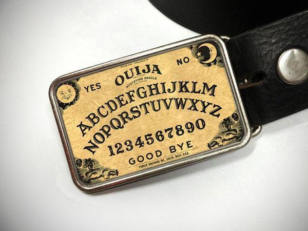 Ouija Board Personalized Custom Belt Buckle