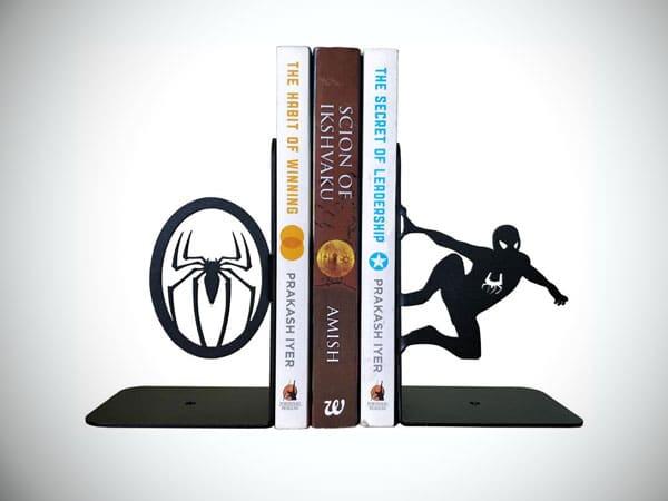 Spiderman Decorative Metal Bookend