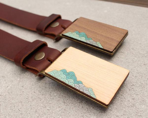 Surf Style Belt Buckle