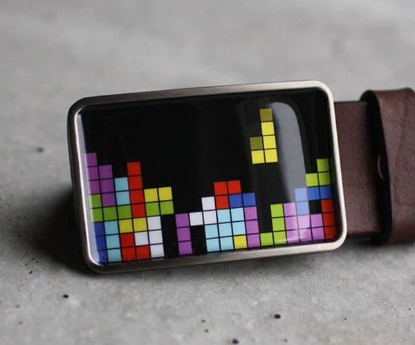 Tetris Belt Buckle