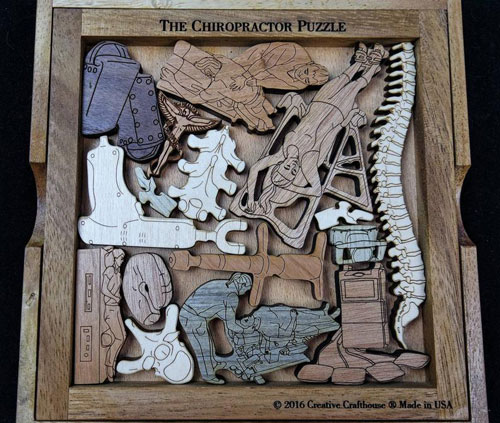 The Chiropractor Puzzle – Challenging and Artistic