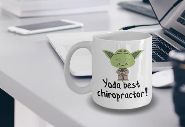 Yoda Best Chiropractor Coffee Mug