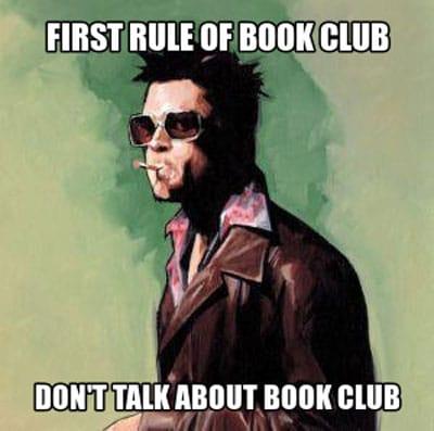 book club meme