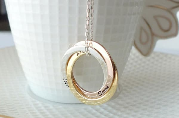 Custom Name Necklaces for Women
