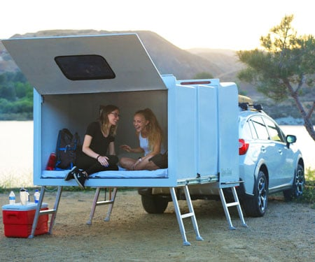 Hitch Hotel Expandable Camper